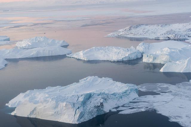 Grönland Eisschmelze Arktis Eisberge